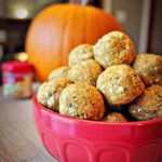 Spiced Pumpkin Running Bites with Chia Seeds