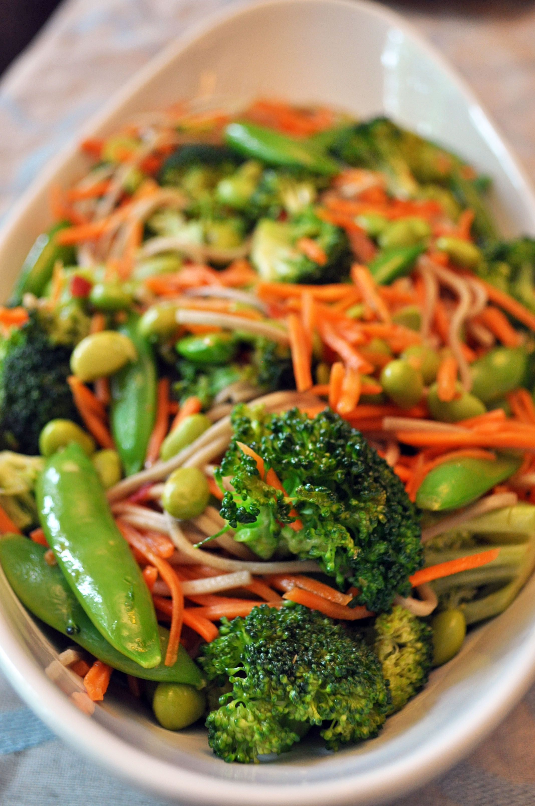 Quick Veggie Stir Fry with Soba Noodles | i.run.on.nutrition